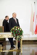 13.11.2006 Warsaw President of Poland Lech Kaczynski sign Law on Lustration photo Piotr Gesicki