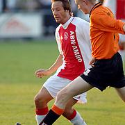 NLD/Hilversum/20060920 - Jubileumwedstrijd VV Altius - Lucky Ajax, Johnny van 't Schip
