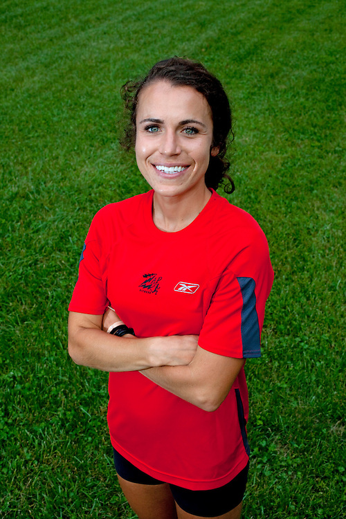 Zap Fitness athlete Alissa McKaig, photographed at the Zap Training center in Blowing Rock, NC..