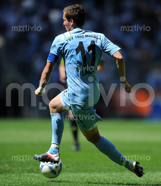 2. Fussball Bundesliga:  Saison   2011/2012,    2.  Spieltag  TSV 1860 Muenchen - FC Erzgebirge Aue  14.08.2011 Benjamin Lauth (1860 Muenchen)