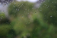 Rain drops on window<br />