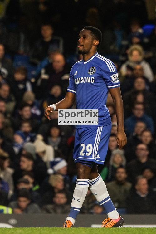 Samule Eto'o of Chelsea,  Chelsea v Swansea, Barclays Premier League, 26 December 2013