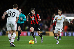 Harry Arter of Bournemouth on the attack - Mandatory by-line: Jason Brown/JMP - Mobile 07966 386802 12/12/2015 - SPORT - FOOTBALL - Bournemouth, Vitality Stadium - AFC Bournemouth v Manchester United - Barclays Premier League
