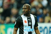 *CORR* Jetro Willems (#15) of Newcastle United during the Premier League match between Newcastle United and Bournemouth at St. James's Park, Newcastle, England on 9 November 2019.