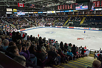 KELOWNA, BC - OCTOBER 26: Fans show support for Japanese figure skater Marin Honda during ladies long program of Skate Canada International held at Prospera Place on October 26, 2019 in Kelowna, Canada. (Photo by Marissa Baecker/Shoot the Breeze)