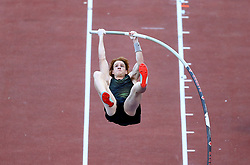 May 31, 2018 - Rome, Italy - Shawnacy Barber (CAN) competes in pole vault men during Golden Gala Iaaf Diamond League Rome 2018 at Olimpico Stadium in Rome, Italy on May 31, 2018. (Credit Image: © Matteo Ciambelli/NurPhoto via ZUMA Press)
