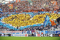 Fotball<br /> Frankrike <br /> 19.10.2014<br /> Foto: Panoramic/Digitalsport<br /> NORWAY ONLY<br /> <br /> supporters (Marseille)<br /> <br /> Marseille vs Toulouse - Ligue 1