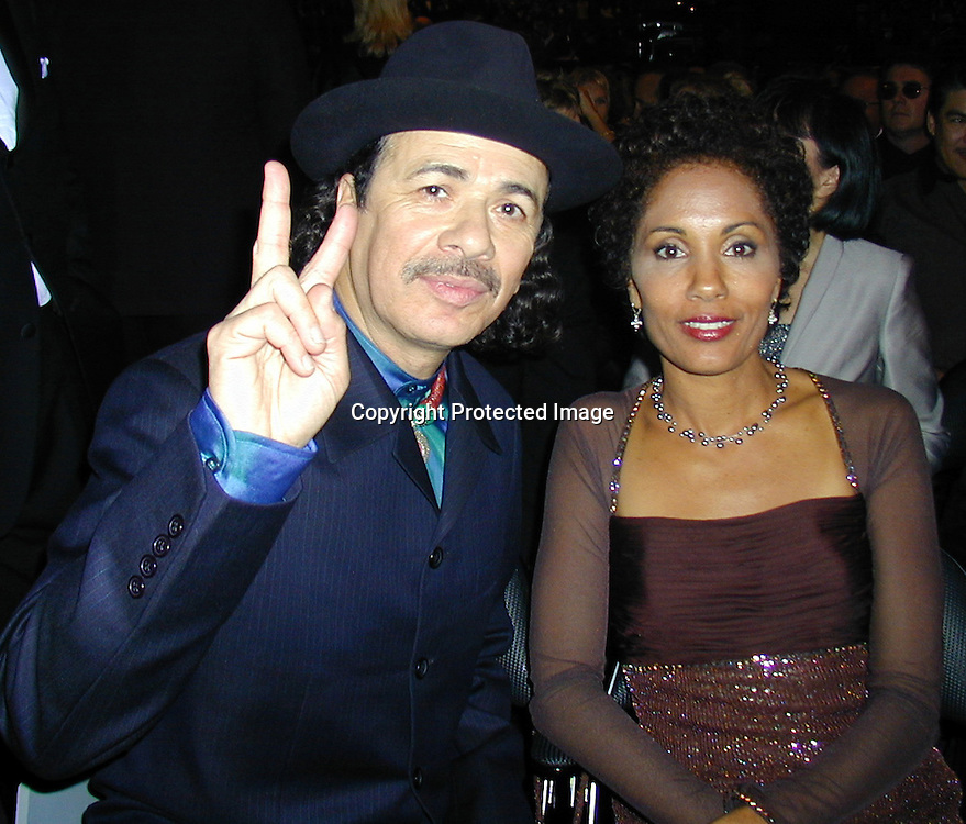 Carlos Santana &amp;Wife Brenda<br />