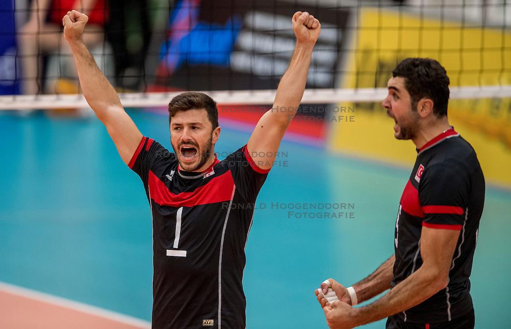 25-09-2016 NED: EK Kwalificatie Nederland - Turkije, Koog aan de Zaan<br /> Ulas Kiyak #1