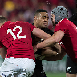 Ngani Laumape during game 9 of the British and Irish Lions 2017 Tour of New Zealand, the second Test match between  The All Blacks and British and Irish Lions, Westpac Stadium, Wellington, Saturday 1st July 2017<br /> (Photo by Kevin Booth Steve Haag Sports)<br /> <br /> Images for social media must have consent from Steve Haag
