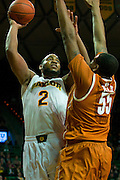 WACO, TX - JANUARY 25: Rico Gathers #2 of the Baylor Bears shoots the ball against the Texas Longhorns on January 25, 2014 at the Ferrell Center in Waco, Texas.  (Photo by Cooper Neill/Getty Images) *** Local Caption *** Rico Gathers