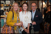 KIT KEMP; LOUISE OLSEN; CRAIG MARKHAM , Dinosaur Designs launch of their first European store in London. 35 Gt. Windmill St. 18 September 2014