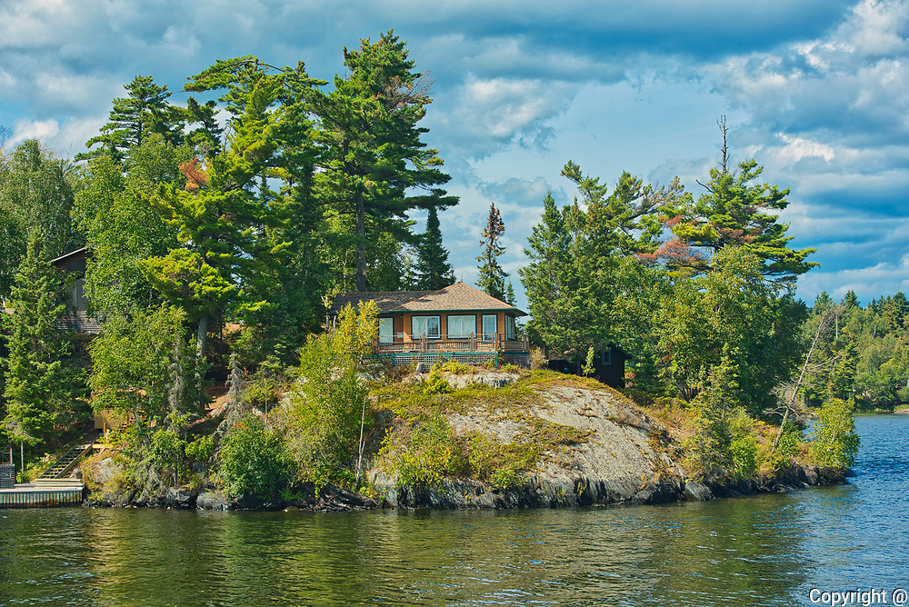 Cottage on Lake of the Woods<br />
