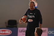 Ettore Messina<br /> Raduno Nazionale Maschile Senior<br /> Raduno Giorno 2<br /> Folgaria 23/07/2017<br /> Foto Ciamillo-Castoria/ G. Ciamillo