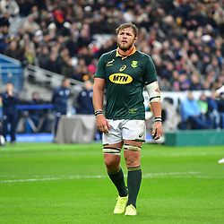 Duane Vermeulen of South Africa during the test match between France and South Africa at Stade de France on November 18, 2017 in Paris, France. (Photo by Dave Winter/Icon Sport)