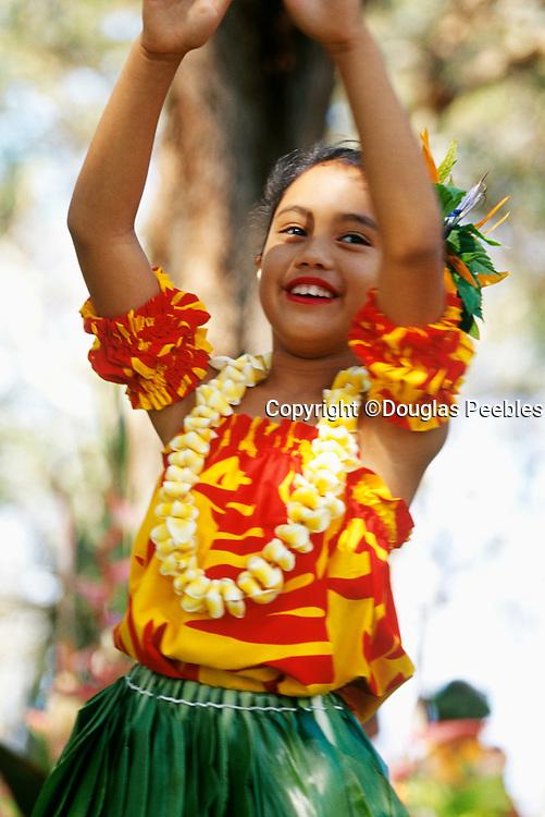 Polynesian Hula Dancer, Hawaii