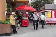 Mexico City, Av. Cuauhtémoc.