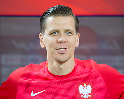October 11, 2018 - Chorzow, Poland - Wojciech Szczesny (POL) during the UEFA Nations League A group three match between Poland and Portugal at Silesian Stadium on October 11, 2018 in Chorzow, Poland. (Credit Image: © Foto Olimpik/NurPhoto via ZUMA Press)