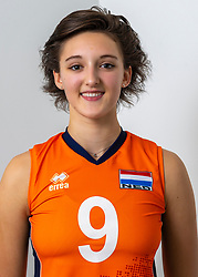 21-12-2018 NED: Photoshoot selection of Orange Young Girls, Arnhem <br /> Orange Young Girls 2018 - 2019 / Dagmar Mourits #9