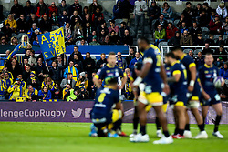 ASM Clermont Auvergne support their side in the European Rugby Challenge Cup Final - Mandatory by-line: Robbie Stephenson/JMP - 10/05/2019 - RUGBY - St James' Park - Newcastle, England - ASM Clermont Auvergne v La Rochelle - European Rugby Challenge Cup Final
