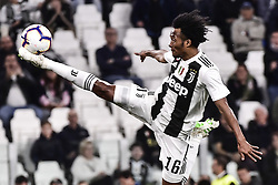May 3, 2019 - Torino, Torino, Italia - Foto LaPresse - Marco Alpozzi.03 Maggio 2019 Torino, Italia .Sport.Calcio.Juventus Fc vs Torino Fc - Campionato di calcio Serie A TIM 2018/2019 - Allianz Stadium..Nella foto: Juan Cuadrado (Juventus F.C.);..Photo LaPresse - Marco Alpozzi.May 03, 2019 Turin, Italy.sport.soccer.Juventus Fc vs Torino Fc - Italian Football Championship League A TIM 2018/2019 - Allianz Stadium..In the pic: Juan Cuadrado  (Credit Image: © Marco Alpozzi/Lapresse via ZUMA Press)