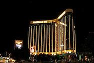US-LAS VEGAS: Mandalay Hotel by night. .PHOTO GERRIT DE HEUS