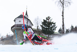 03.01.2020, Hochstein, Lienz, AUT, OeSV, Training Slalom, im Bild Marco Schwarz (AUT) // Marco Schwarz of Austria during a Slalom training session in preparation for the upcoming FIS Alpine Skiing World Cup Zagreb at the Hochstein in Lienz, Austria on 2020/01/03. EXPA Pictures © 2019, PhotoCredit: EXPA/ Lukas Huter