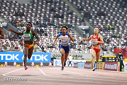 2019 IAAF World Athletics Championships held in Doha, Qatar from September 27- October 6<br /> Day 3