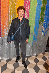 Helen McCrory at a cocktail supper hosted by BOTTLETOP co-founders Cameron Saul & Oliver Wayman, along with Arizona Muse, Richard Curtis & Livia Firth to launch the #TOGETHERBAND campaign at The Quadrant Arcade on April 24, 2019 in London, England.<br /> <br /> ***For fees please contact us prior to publication***