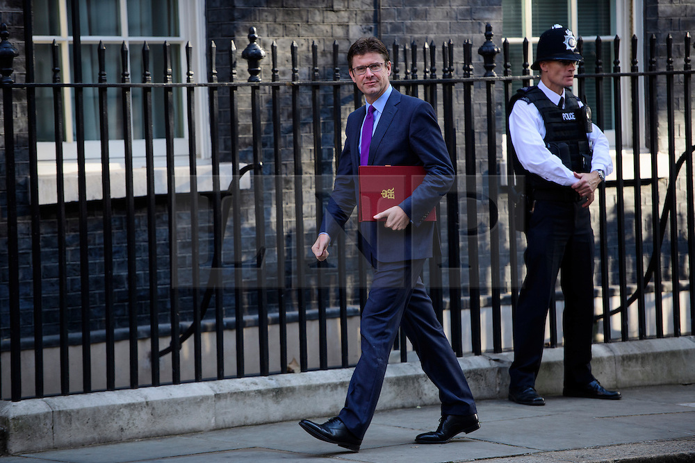 © Licensed to London News Pictures. 13/09/2016. London, UK.  Secretary of State for Business, Energy and Industrial Strategy GREG CLARK MP arrives at 10 Downing Street in London for cabinet meeting on September 13, 2016. Photo credit: Ben Cawthra/LNP