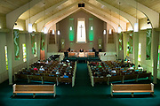 """Rev. Maurice """"Bojangles"""" Blanchard delivers a guest sermon at Ridgewood Baptist Church  in Louisville, KY on Sunday August 11, 2018."""