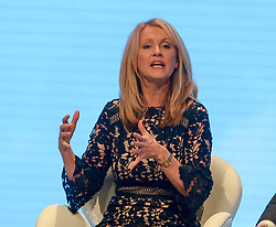 Housing Minister Esther McVey speaks on day 2 of the Conservative Party conference in Manchester.<br /> <br /> © Dave Johnston / EEm