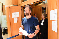 Mickael Robin - 17.06.2015 - Proces des paris sportifs du Handball - Montpellier<br /> Photo : Alexandre Dimou / Icon Sport