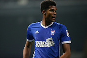 Ipswich Town defender Jordan Spence (12) during the EFL Sky Bet Championship match between Ipswich Town and Sunderland at Portman Road, Ipswich, England on 26 September 2017. Photo by Phil Chaplin.