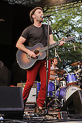 """Photos of the musician Mat Kearney performing live on the """"California 37 World Tour"""" at Central Park SummerStage at Rumsey Playfield, NYC. August 27, 2012. Copyright © 2012 Matthew Eisman. All Rights Reserved."""