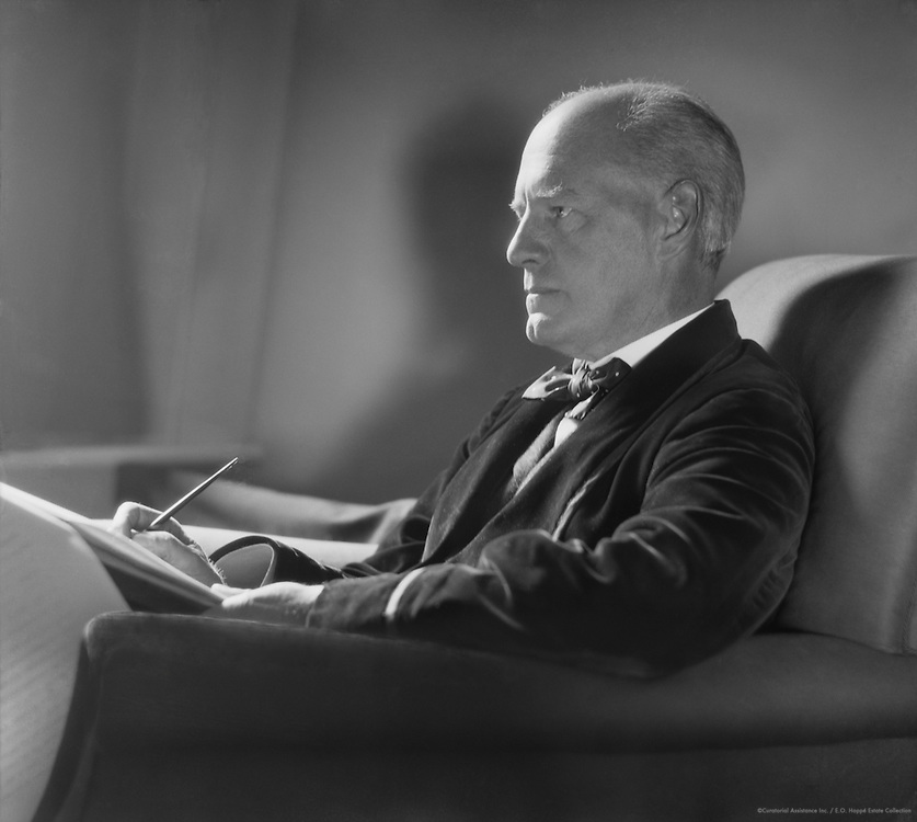 John Galsworthy, English Author and Playwright, 1912