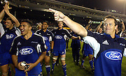24 May 2003, Eden Park Auckland, Rugby Union, Xtra Super 12 Final, Auckland Blues vs Canterbury Crusaders.<br />Blue's Carlos Spencer after the final on Saturday night.<br />Pic: Marty Melville/Photosport