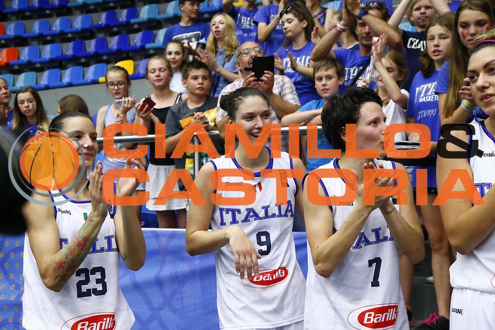 Cecilia Zandalasini<br /> Italia - Ungheria<br /> Nazionale Femminile Senior - EUROBASKET 2017<br /> Hradec Kralove, 20/06/2017<br /> Foto Ciamillo-Castoria / M.Brondi