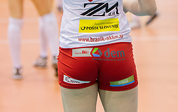 Players of Branik during match between OK Nova KBM Branik and OK Calcit Volleyball in Finals of Slovenian Women Volleyball Cup 2013/14 on December 27, 2013 in Hoce, Slovenia.  Calcit Volleyball won 3-1 and became Slovenian Cup Champion 2013/14. Photo by Vid Ponikvar / Sportida