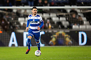Queens Park Rangers defender Grant Hall (4) during the EFL Sky Bet Championship match between Swansea City and Queens Park Rangers at the Liberty Stadium, Swansea, Wales on 11 February 2020.