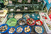 seafood market at Causeway Bay in Hong Kong