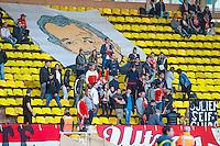 SUPPORTERS MONACO  - 07.04.2015 -  Monaco  / Montpellier  - Match en retard de la 25eme journee de Ligue 1<br />Photo : Serge Haouzi / Icon Sport