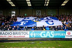 Bristol Rovers flag - Rogan/JMP - 01/01/2018 - FOOTBALL - Memorial Stadium - Bristol, England - Bristol Rovers v Portsmouth - EFL Sky Bet League One.