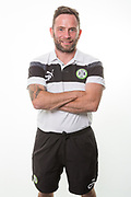 Forest Green Rovers assistant fitness coach Chris Perifimou during the Forest Green Rovers Photocall at the New Lawn, Forest Green, United Kingdom on 31 July 2017. Photo by Shane Healey.