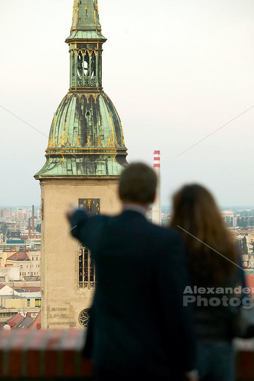 Europe, Slovakia, capitol city - Bratislava...