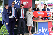 The draw for the Ebor takes place before racing on Day 2 of the Ebor Festival at York Racecourse, York, United Kingdom on 22 August 2019.