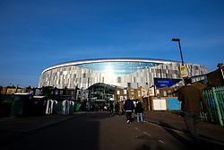 A general view of The Tottenham Hotspur Stadium - Mandatory by-line: Robbie Stephenson/JMP - 30/04/2019 - FOOTBALL - Tottenham Hotspur Stadium - London, England - Tottenham Hotspur v Ajax - UEFA Champions League Semi-Final 1st Leg