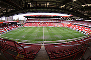 General view of the Charlton Athletic stadium before  the Sky Bet Championship match at The Valley, London<br /> Picture by Andrew Tobin/Focus Images Ltd +44 7710 761829<br /> 05/04/2014