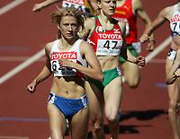 Friidrett, 6. august 2005, VM Helsinki, <br /> World Championship in Athletics<br /> Svetlana Cherkasova, RUS 800 metres