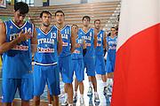 DESCRIZIONE : Porto San Giorgio Torneo Internazionale dell'Adriatico Italia-Cina Italy-China<br /> GIOCATORE : Fantoni Boscagin Garri Pecile Brkic Di Giuliomaria Maresca<br /> SQUADRA : Italy Italia<br /> EVENTO : Porto San Giorgio Torneo Internazionale dell'Adriatico Italia-Cina <br /> GARA : Italia Cina Italy China<br /> DATA : 02/07/2006 <br /> CATEGORIA : si<br /> SPORT : Pallacanestro <br /> AUTORE : Agenzia Ciamillo-Castoria/E.Castoria<br /> Galleria : FIP Nazionale Italiana<br /> Fotonotizia : Porto San Giorgio Torneo Internazionale dell'Adriatico<br /> Predefinita : si